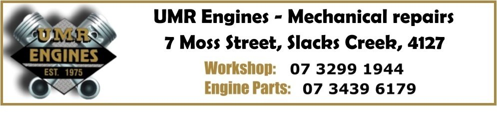 ENGINE PARTS HOTLINE: 07 3439 6179