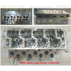 VW Amarok 2.0 Lt Cylinder head with pipe 908726