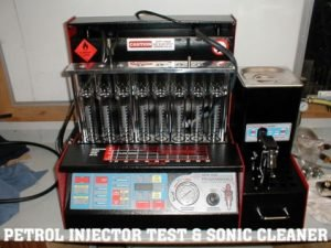 Ultra Sonic Clean fuel injectors