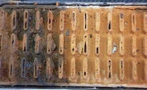 close-up-of-blocked-radiator