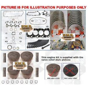 Toyota Hilux / Prado 1KZ-TE 3.0 Lt Diesel engine rebuild kit