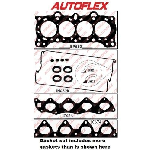 Honda Integra DA Engine: D16A3 Autoflex VRS GASKET SET