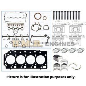 Hyundai TQ iLoad D4CB 2.5 Lt Engine Rebuild Kit